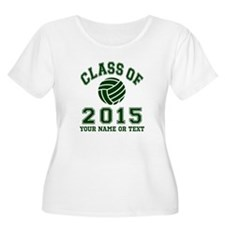 Class Of 2015 Volleyball Plus Size T-Shirt