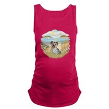 Rowboat - Yorkie 13.png Maternity Tank Top