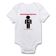 Heart Surgery Surviver Infant Bodysuit