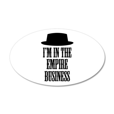 Heisenberg Business 20x12 Oval Wall Decal