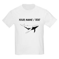Custom Humpback Whale T-Shirt