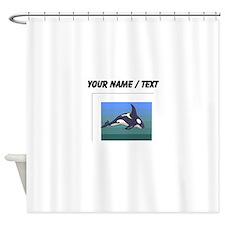 Custom Orca Whale Shower Curtain