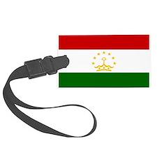 Tajikistan Flag Luggage Tag
