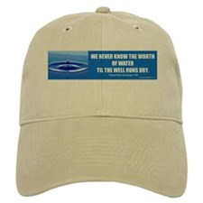Water Conservation Baseball Cap