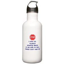 Labels Stainless Water Bottle 1.0l