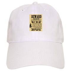 Billy The Kid Dead or Alive Cap