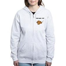 Custom Stingray Zip Hoodie