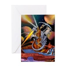 CELESTIAL DRAGON Greeting Cards