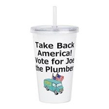 Take Back America Acrylic Double-wall Tumbler