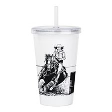 Rodeo Cowgirl Acrylic Double-wall Tumbler