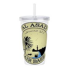 Al Asad Air Base.psd.p Acrylic Double-wall Tumbler