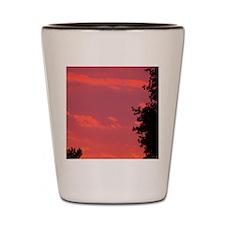 Autumn Sunrise Shot Glass