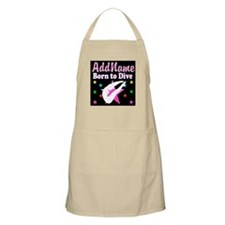 DIVING FOREVER Apron
