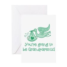 Going to be Grandparents Greeting Cards