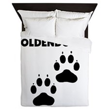 Team Goldendoodle Queen Duvet