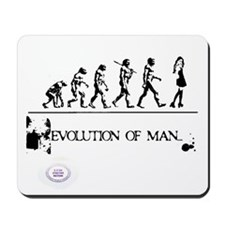 Cute Man design Mousepad