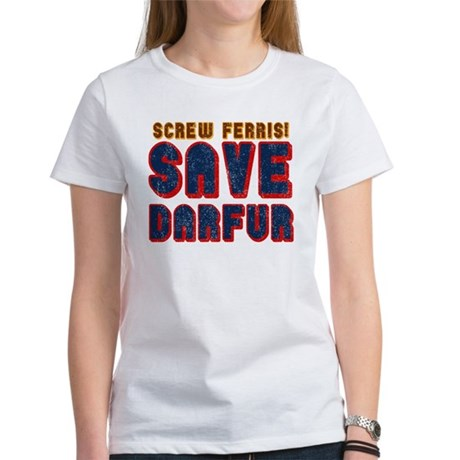 Save Darfur Women's T-Shirt