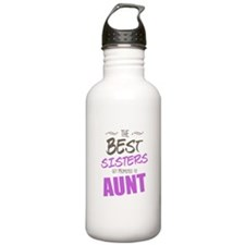 Great Sisters Get Promoted To Aunt Water Bottle