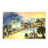 Greetings from Connecticut Postcards (Package of 8