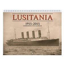 2015 Lusitania Centennial Wall Calendar
