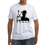 Shadowed Peace Hand Fitted T-Shirt