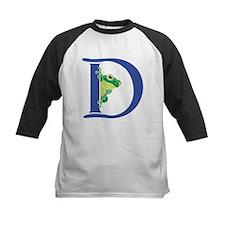 Blue Frog D Baseball Jersey