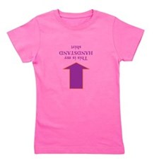 Unique For gymnasts Girl's Tee