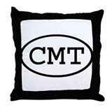 CMT Oval Throw Pillow