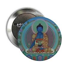 "Medicine Buddha 2.25"" Button (10 pack)"