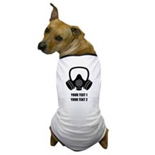 Personalized Breaking Bad Gas Mask 1 Dog T-Shirt