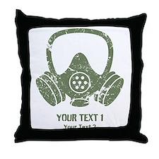 Breaking Bad Vintage Gas Mask Custom Throw Pillow