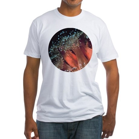 Strawberry Anemone Fitted T-Shirt