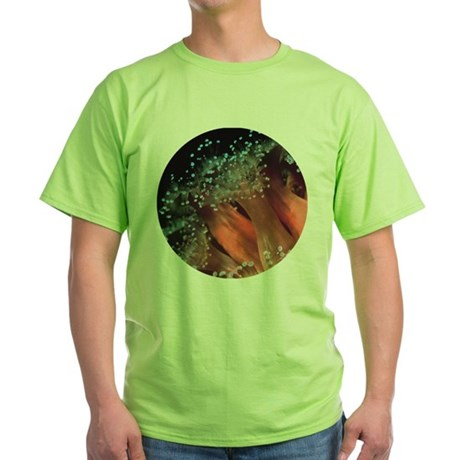Strawberry Anemone Green T-Shirt