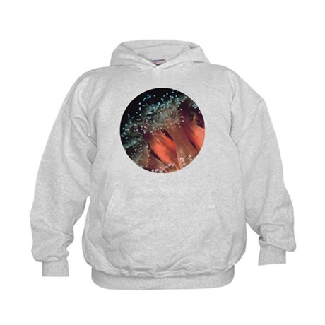 Strawberry Anemone Kids Hoodie
