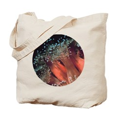 Strawberry Anemone Tote Bag