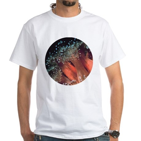 Strawberry Anemone White T-Shirt