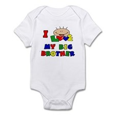 I Love my BIG Brother CUTE Baby/toddler bodysuits