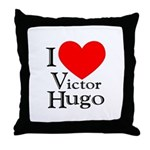 Love Victor Hugo Throw Pillow