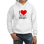 Love Victor Hugo Hooded Sweatshirt