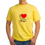 Love Victor Hugo Yellow T-Shirt