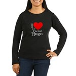 Love Victor Hugo Women's Long Sleeve Dark T-Shirt