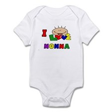 I Love Nonna CUTE Baby/Toddler bodysuits