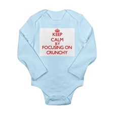 Keep Calm by focusing on Crunchy Body Suit