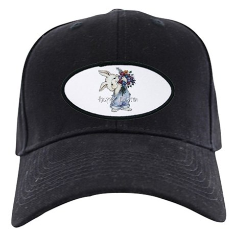 Easter Bunny Black Cap