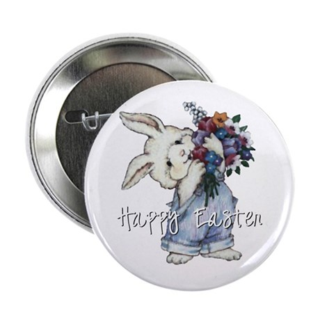 Easter Bunny Button