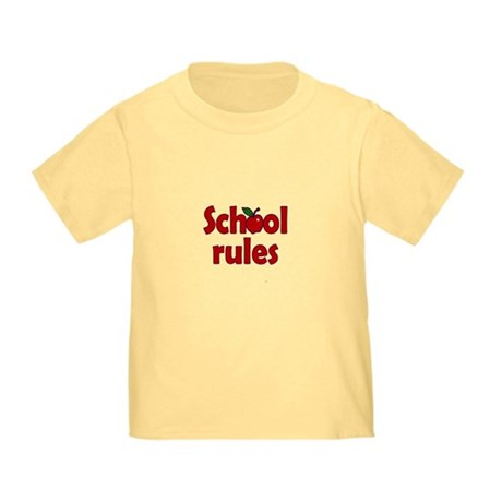 School Rules Toddler T-Shirt