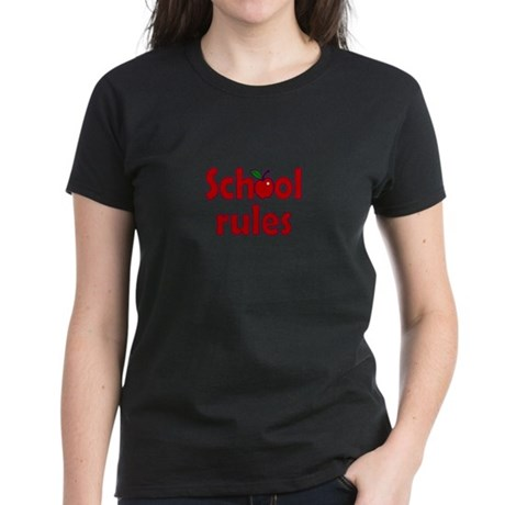 School Rules Women's Dark T-Shirt