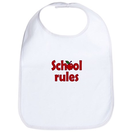 School Rules Bib
