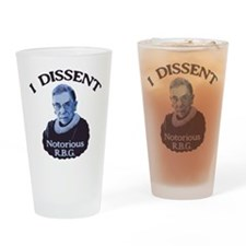 Notorious RBG Drinking Glass