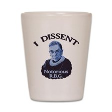 Notorious RBG Shot Glass